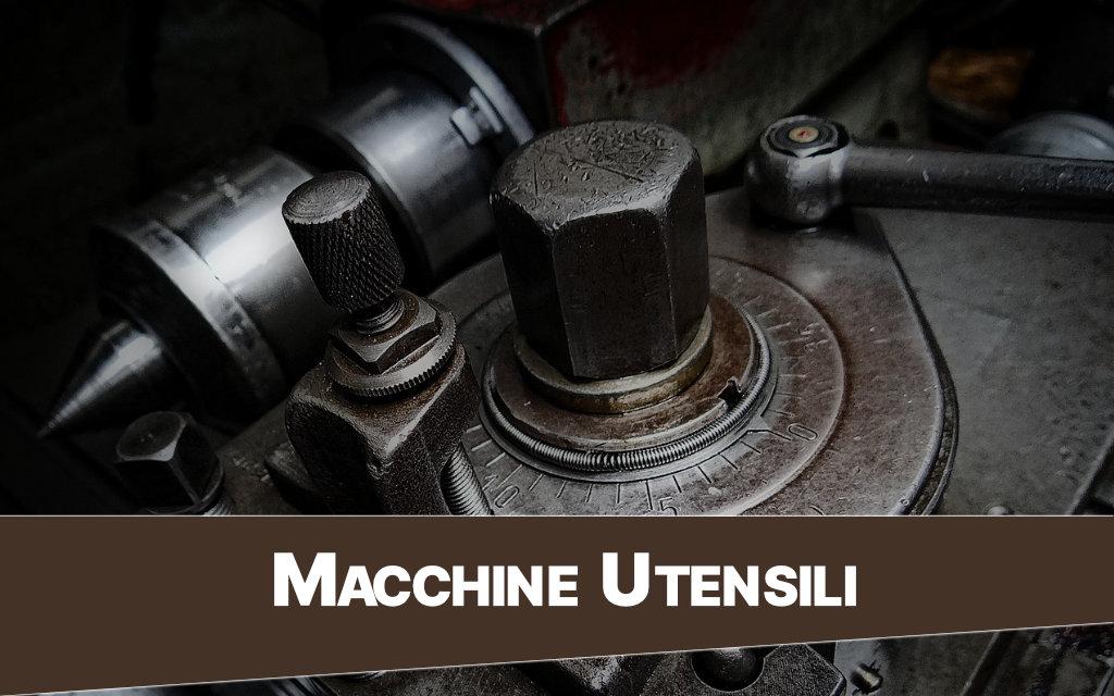 Macchine utensili